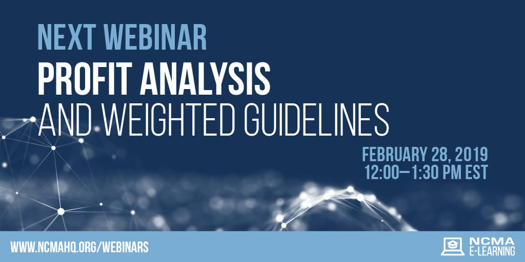 Profit Analysis and Weighted Guidelines